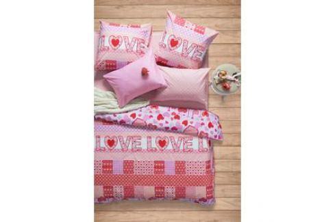 Комплект постельного белья Сова и Жаворонок 2-х сп, поплин, Амарант, n70 Электроника и оборудование