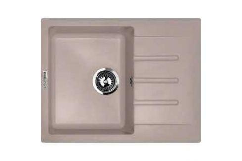 Мойка кухонная Lava L1 650х500 белый (L1LAT) Кухонные мойки