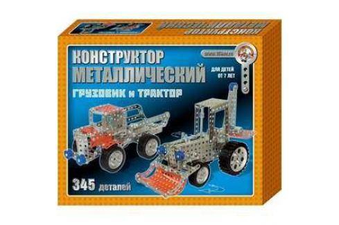 Десятое Королевство Конструктор металлический Грузовик и трактор 953 Металлические