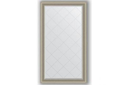 Зеркало с гравировкой поворотное Evoform Exclusive-G 96x171 см, в багетной раме - хамелеон 88 мм (BY 4407) Мебель для ванных комнат