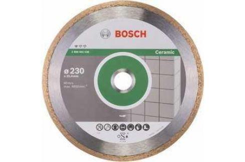 Диск алмазный Bosch 230х25.4 мм Standard for Ceramic (2.608.602.538) Алмазные диски