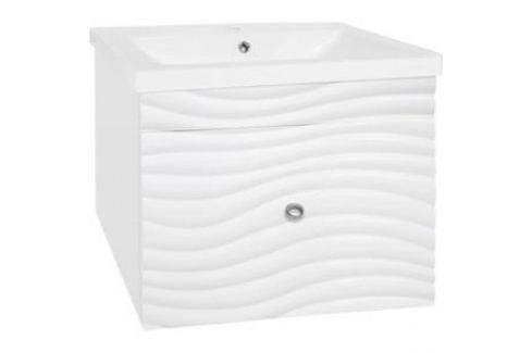 Тумба под раковину Style line Вероника 70 с доводчиками, Сомо 70 (2000949076584) Мебель для ванных комнат