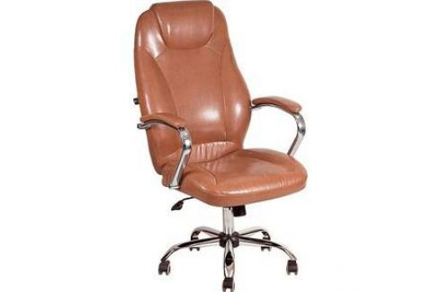 Кресло Алвест AV 122 CH (04) СХ экокожа 220 коньяк Компьютерные кресла