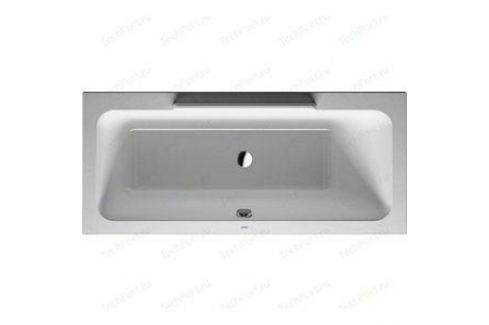 Акриловая ванна Duravit DURASTYLE 170x75 см с ножками (700297000000000+790100000000000) Акриловые