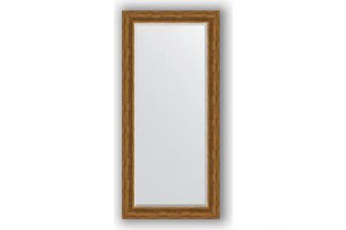 Зеркало с фацетом в багетной раме поворотное Evoform Exclusive 79x169 см, травленая бронза 99 мм (BY 3602) Мебель для ванных комнат