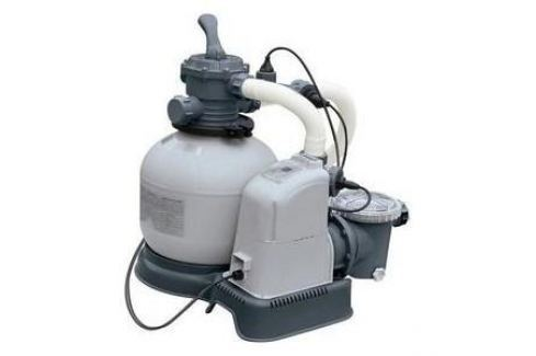 Хлоргенератор Intex 28680 (система морской воды с песочным фильтр-насосом 10000л/ч для бассейна до 56.8м3) Насосы и нагреватели