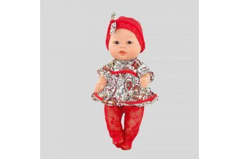 Кукла-пупс Carmen Gonzalez Бебетин в платье и красных колготках, Carmen Gonzalez КУКЛЫ-МЛАДЕНЦЫ И АКСЕССУАРЫ