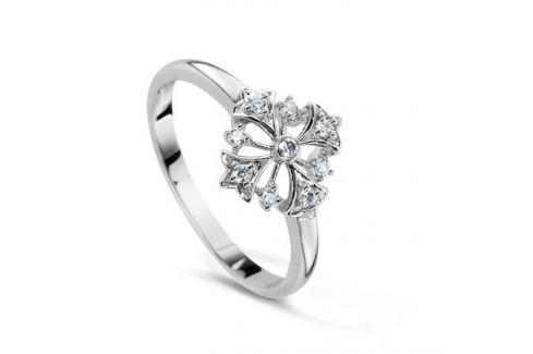 Кольцо с бриллиантами из белого золота VALTERA 53861 Изделия из золота