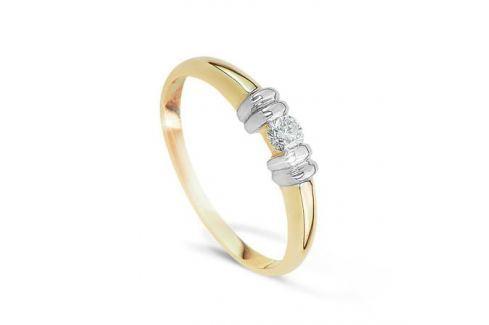 Кольцо с бриллиантами из желтого золота VALTERA 22221 Изделия из золота