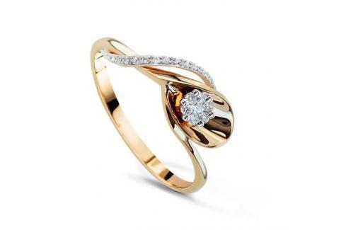 Кольцо с бриллиантами из розового золота VALTERA 49343 Изделия из золота