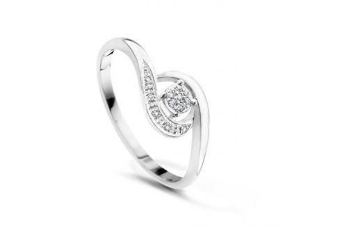 Кольцо с бриллиантами из белого золота VALTERA 51943 Изделия из золота