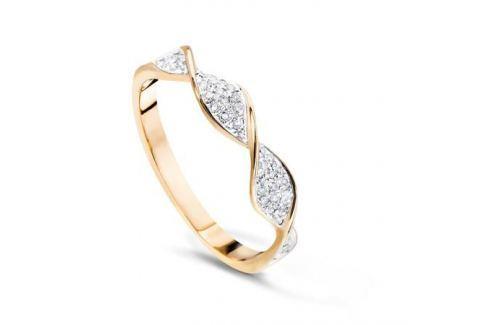 Кольцо с бриллиантами из желтого золота VALTERA 57841 Изделия из золота