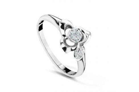 Кольцо с бриллиантами из белого золота VALTERA 54067 Изделия из золота
