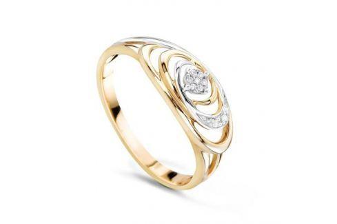 Кольцо с бриллиантами из розового золота VALTERA 56882 Изделия из золота