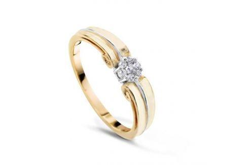 Кольцо с бриллиантами из розового золота VALTERA 50887 Изделия из золота