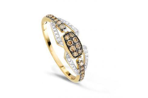 Кольцо с бриллиантами из желтого золота VALTERA 65986 Изделия из золота