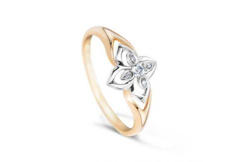 Кольцо с бриллиантами из розового золота VALTERA 48463 Изделия из золота