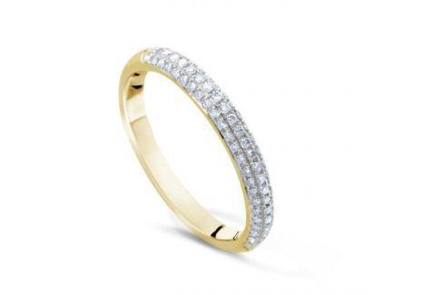 Кольцо с бриллиантами из желтого золота VALTERA 50748 Изделия из золота