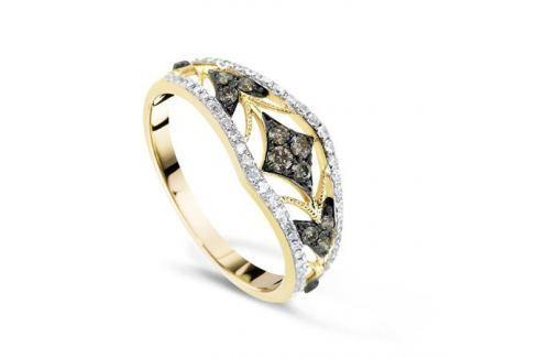 Кольцо с бриллиантами из желтого золота VALTERA 68694 Изделия из золота