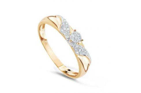 Кольцо с бриллиантами из розового золота VALTERA 74720 Изделия из золота