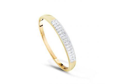 Кольцо с бриллиантами из желтого золота VALTERA 77476 Изделия из золота