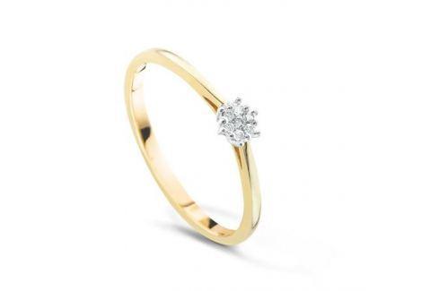 Кольцо с бриллиантами из желтого золота VALTERA 50874 Изделия из золота