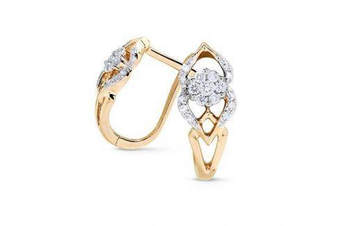 Серьги с бриллиантами из розового золота VALTERA 71726 Изделия из золота