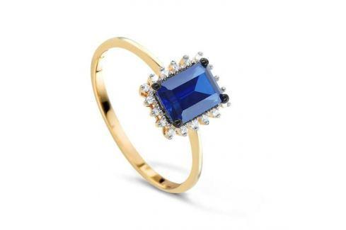 Кольцо с сапфирами и бриллиантами из розового золота VALTERA 78048 Изделия из золота