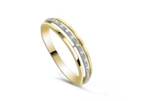 Кольцо с бриллиантами из желтого золота VALTERA 82374 Изделия из золота