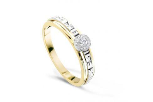 Кольцо с бриллиантами из желтого золота VALTERA 82957 Изделия из золота