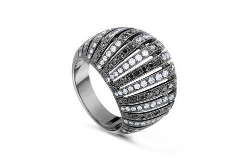 Кольцо с бриллиантами из белого золота VALTERA 44592 Изделия из золота