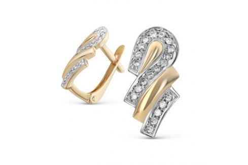 Серьги из розового золота 81637 Изделия из золота