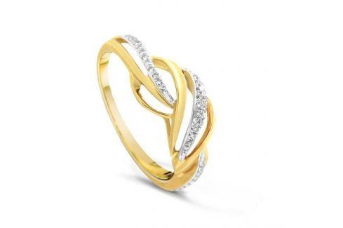Кольцо с бриллиантами из желтого золота VALTERA 79709 Изделия из золота