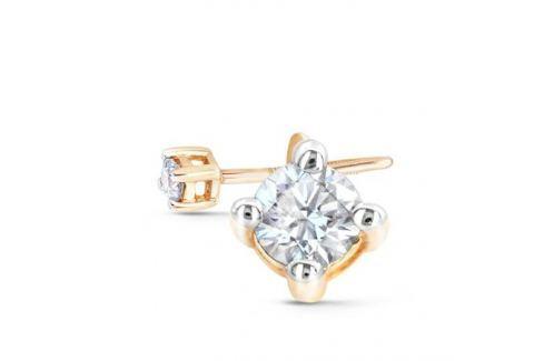 Серьги с бриллиантами из желтого золота VALTERA 48300 Изделия из золота