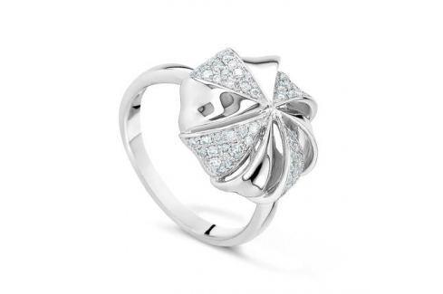 Кольцо с бриллиантами из белого золота VALTERA 43408 Изделия из золота