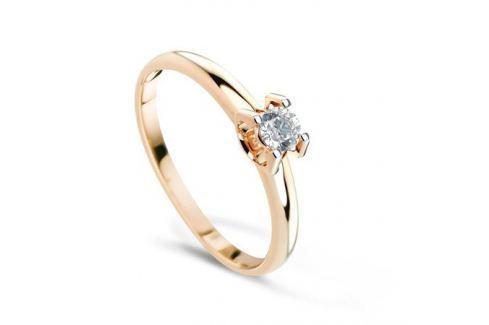 Кольцо с бриллиантами из розового золота VALTERA 69946 Изделия из золота