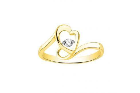 Кольцо с бриллиантами из желтого золота VALTERA 90056 Изделия из золота