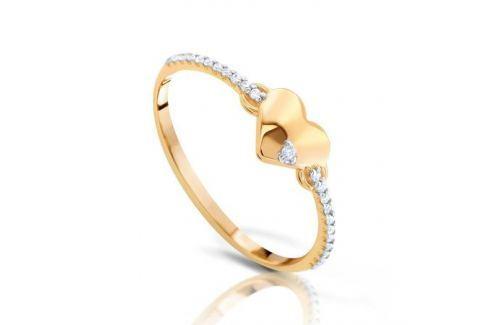 Кольцо из розового золота 87478 Изделия из золота