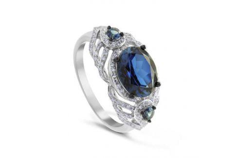 Кольцо с сапфирами и бриллиантами из белого золота VALTERA 74692 Изделия из золота