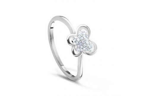 Кольцо с бриллиантами из белого золота VALTERA 53125 Изделия из золота