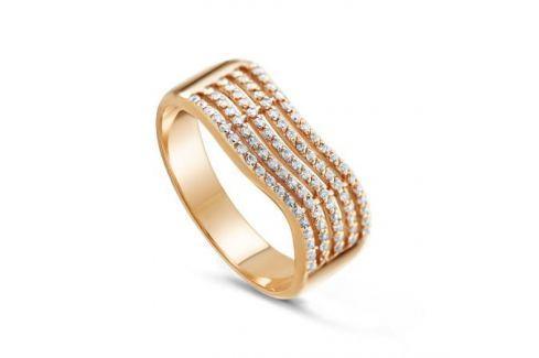 Кольцо из розового золота 81643 Изделия из золота