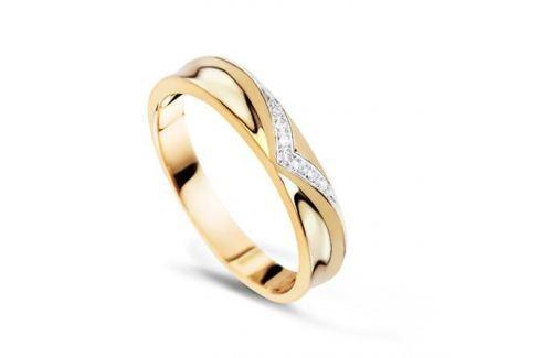 Кольцо с бриллиантами из желтого золота VALTERA 54898 Изделия из золота