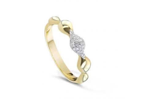 Кольцо с бриллиантами из розового золота VALTERA 61435 Изделия из золота