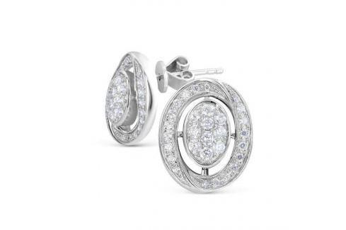 Серьги из серебра VALTERA 56547 Изделия из серебра